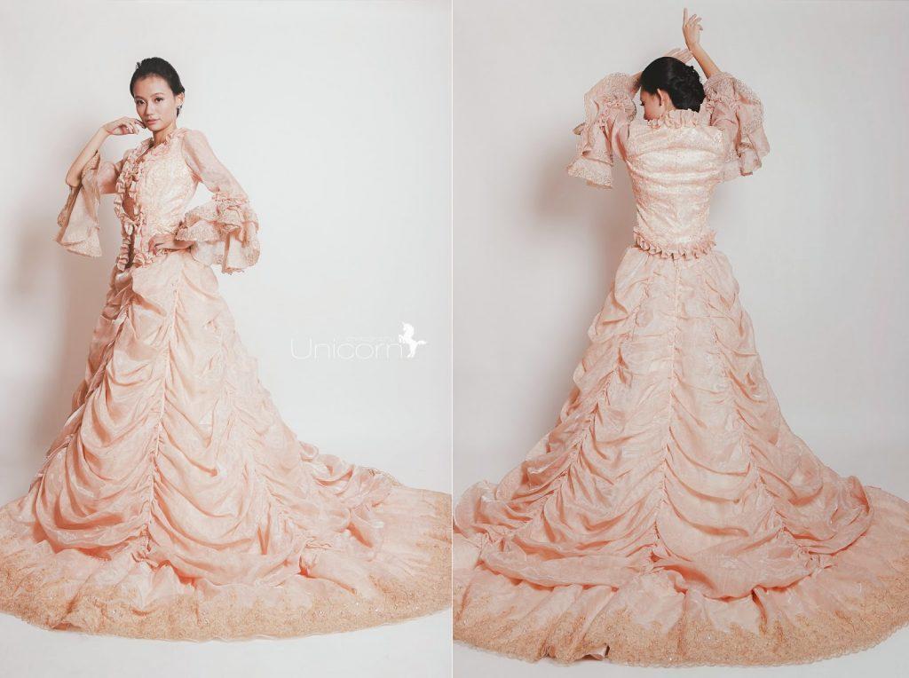《商業攝影》婚紗禮服型錄攝影
