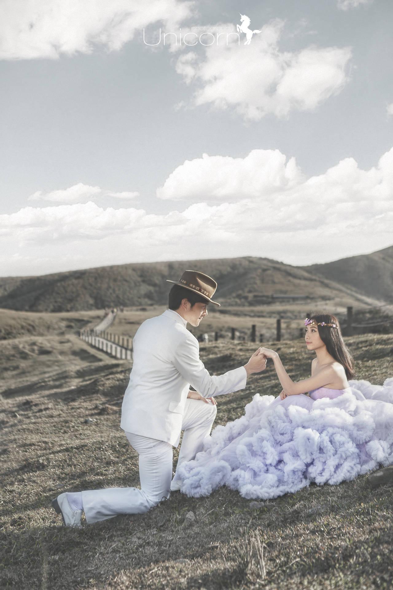 《Pre-Wedding》Wei & Jacy 自助婚紗 / 擎天崗