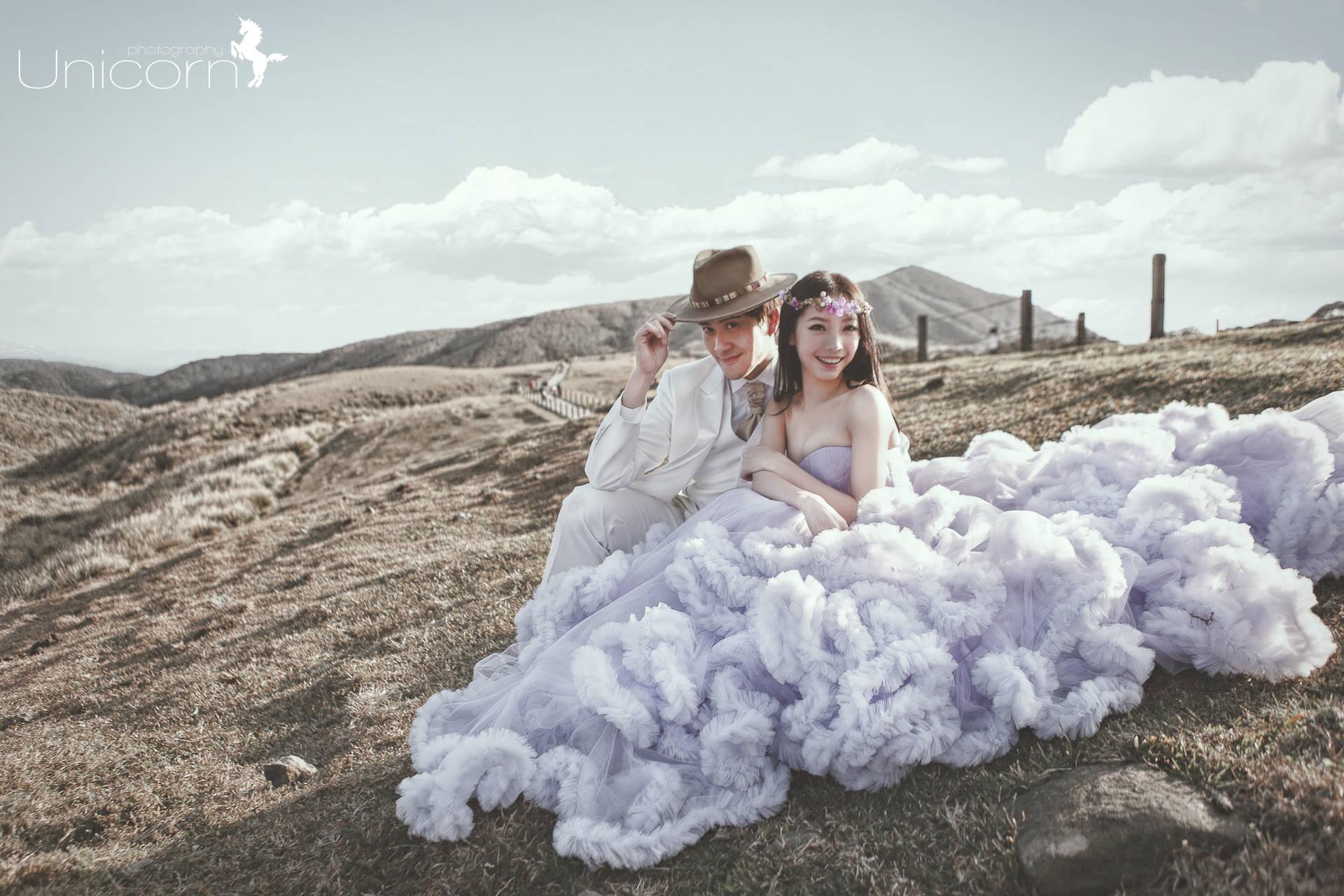 《婚紗》Wei & Jacy / 擎天崗