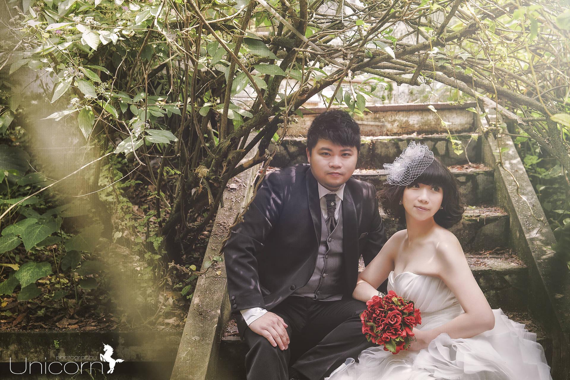 《Pre-Wedding》Kevin & Yifen 自助婚紗 / 陽明山真愛桃花源