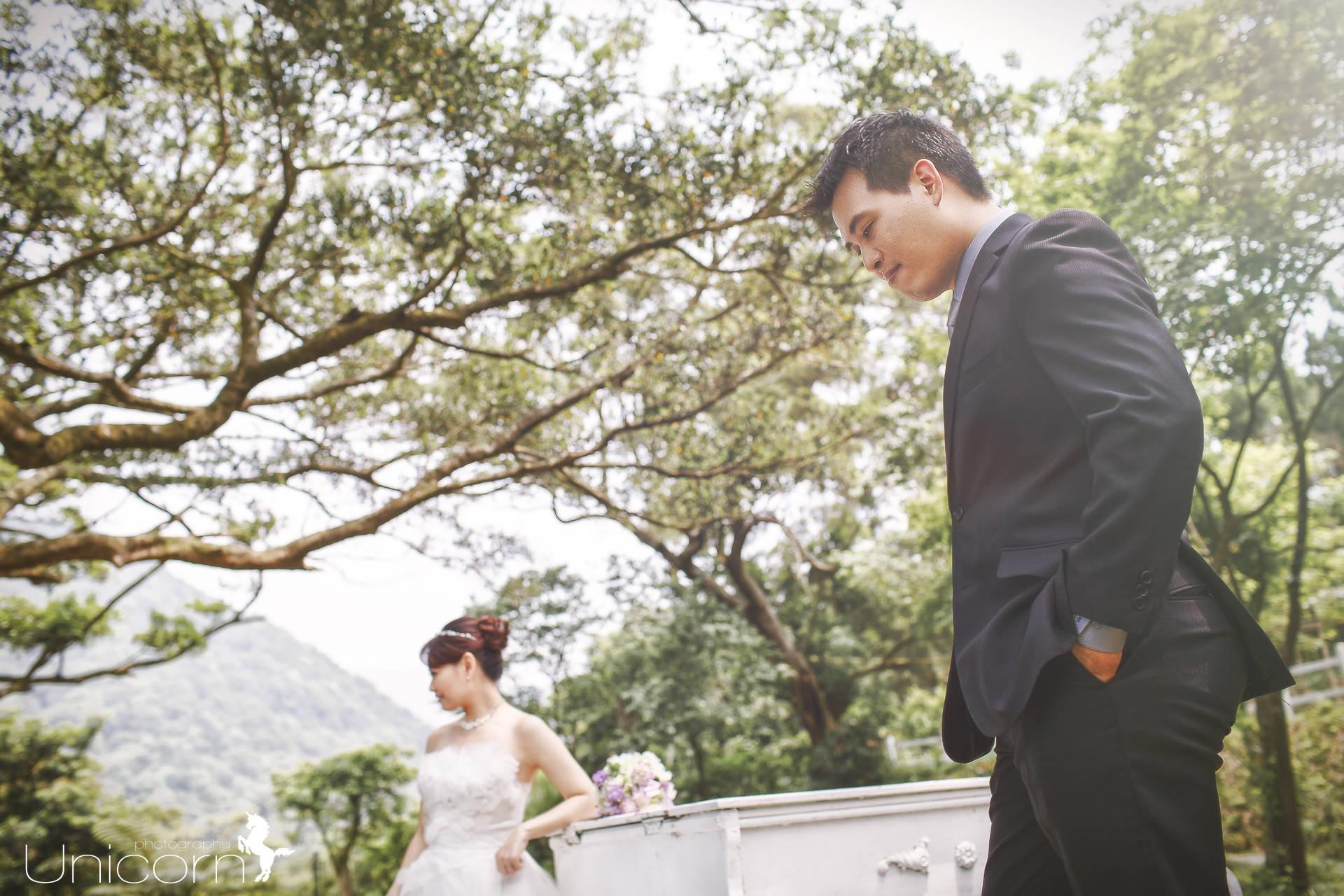 《Pre-Wedding》啟帆 & 子菁 自助婚紗 / 陽明山真愛桃花源