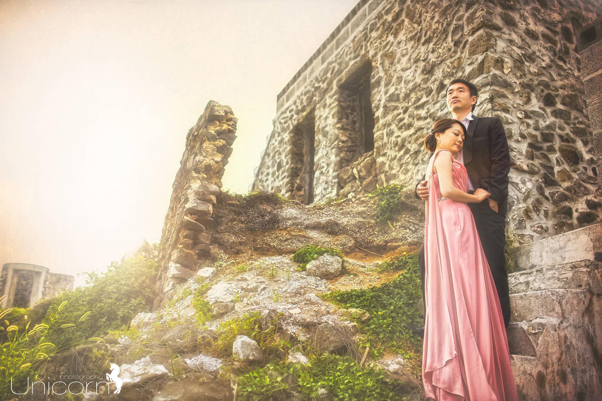 《Pre-Wedding》晉貴 & 鈺文 自助婚紗 / 澎湖花火節