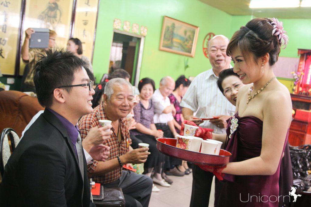 《文訂儀式》亦為&宇紓婚禮攝影 / 新人自宅