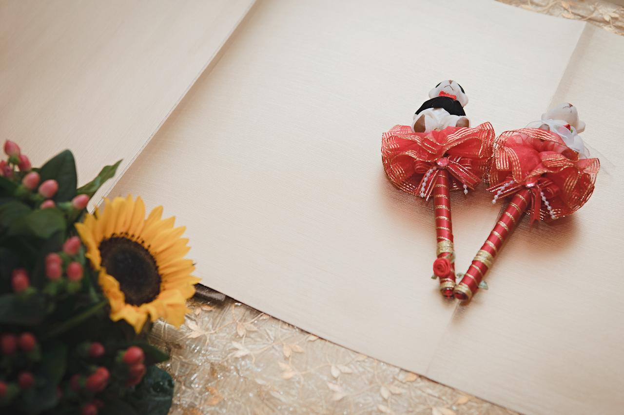 《文訂宴》震川 & 宜婷婚禮攝影 / 中和環球華漾飯店