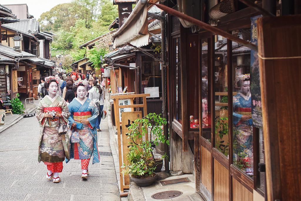 【京都拍婚紗】景點 – 清水寺的藝妓