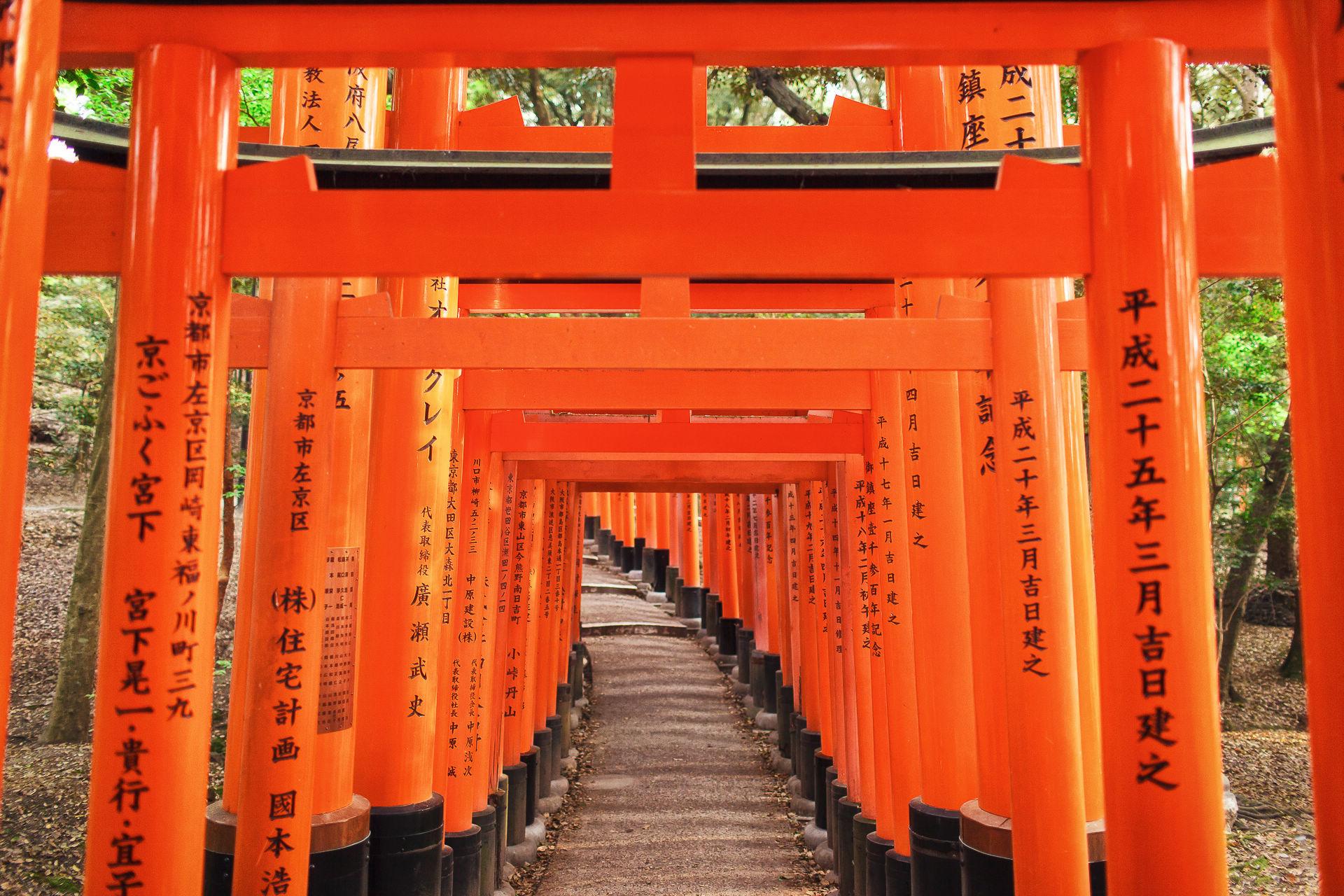 【京都拍婚紗】景點 – 伏見稻荷大社
