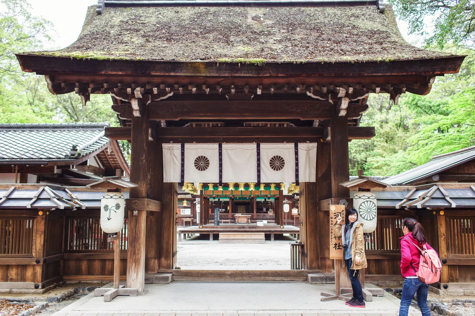 【京都拍婚紗】景點 – 供奉美麗神的河合神社