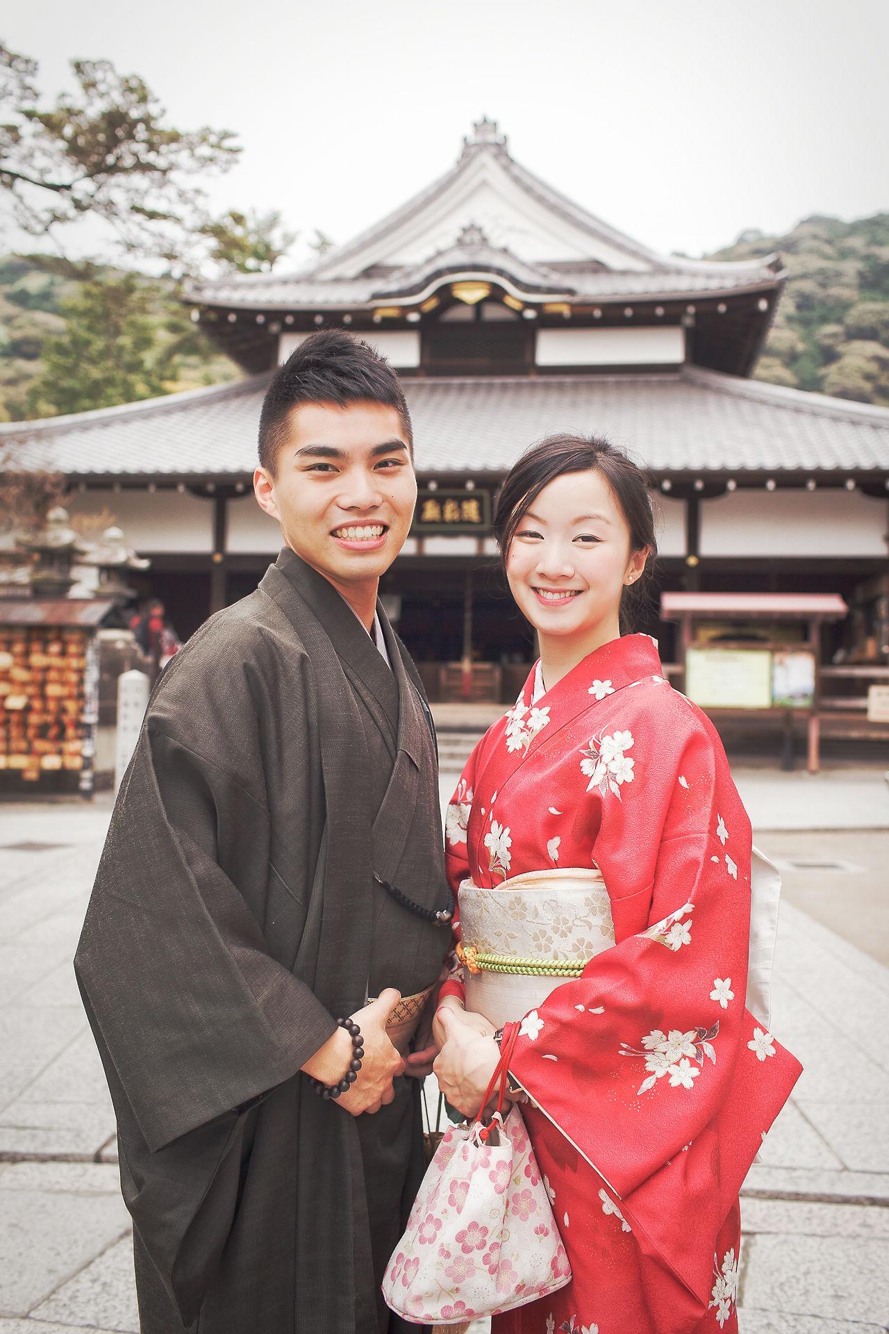 日本京都|清水寺|海外婚紗|櫻花季