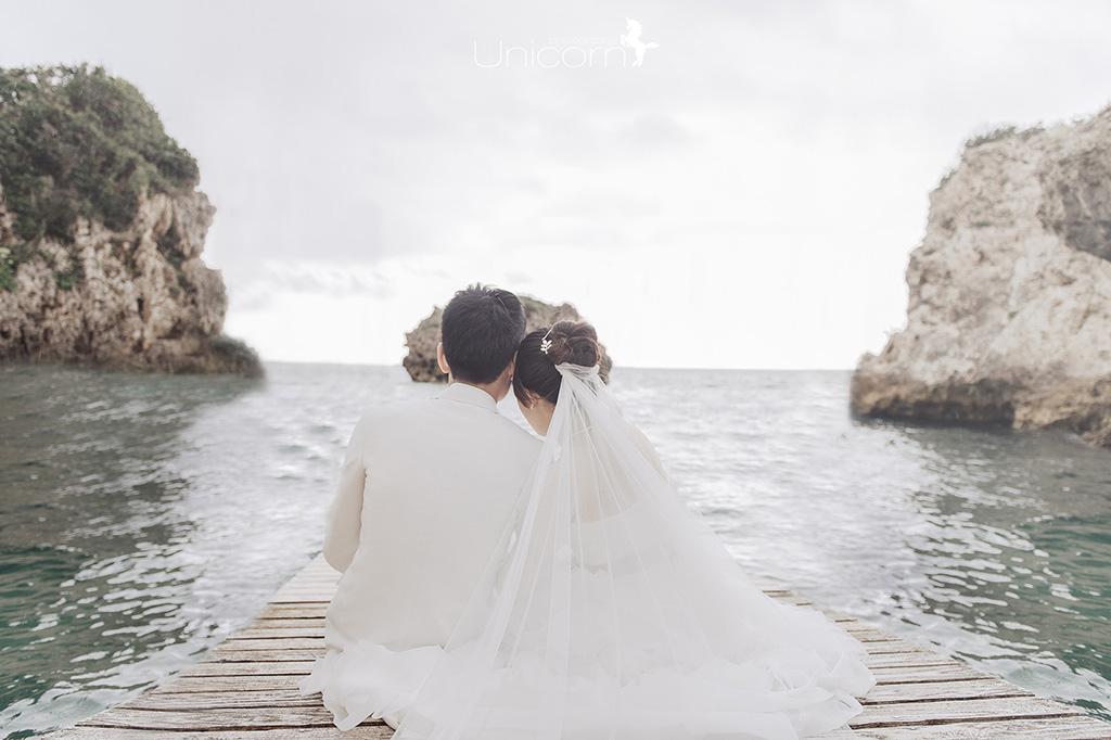 【來去沖繩拍婚紗】景點 – 新原海灘