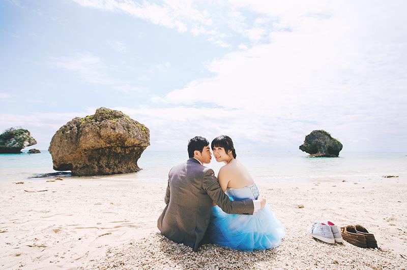 2015-沖繩海外婚紗-新原海灘