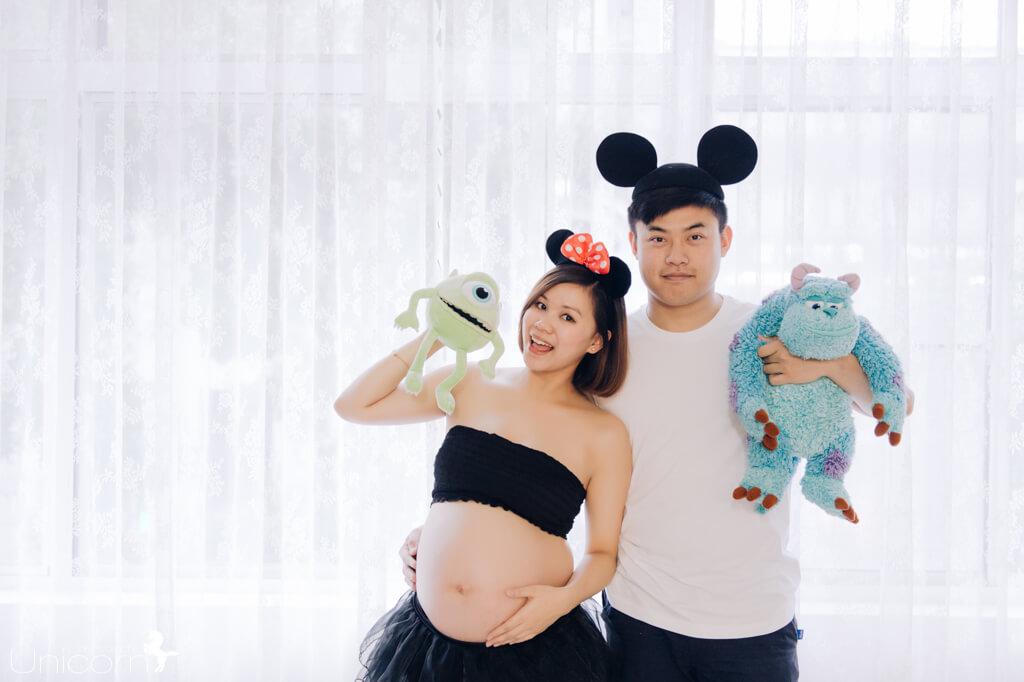《孕婦寫真》杰廷 & 盈樺