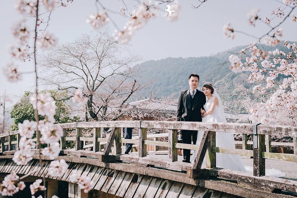 《海外婚紗》立偉 & 稚苓 / 京都 Kyoto 櫻花季