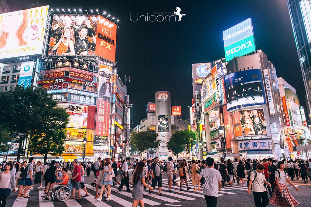 【東京拍婚紗】景點 – 澀谷
