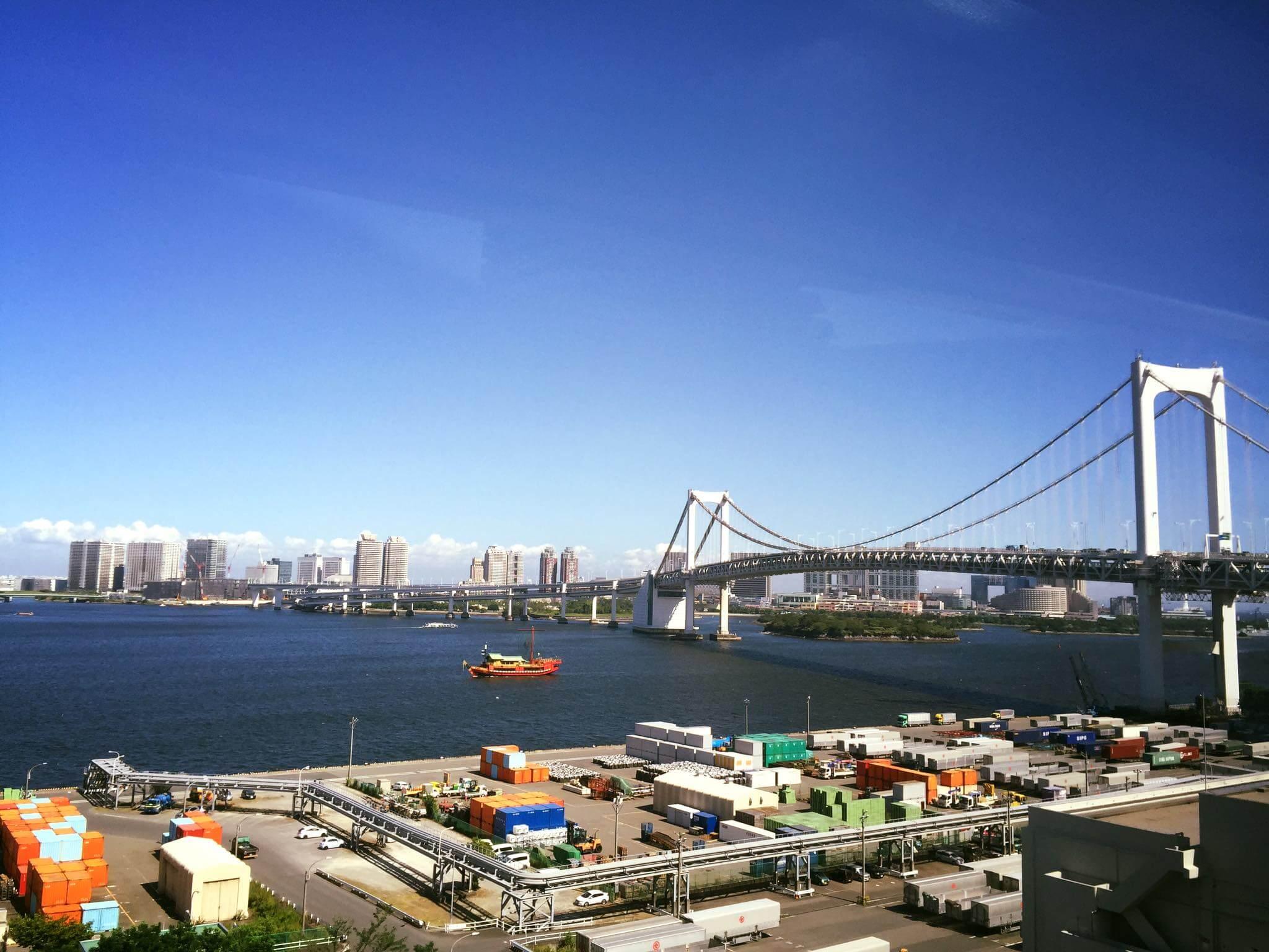 【東京拍婚紗】景點 – 台場彩虹大橋