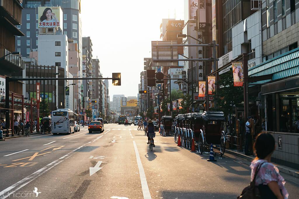 【東京拍婚紗】景點 – 雷門通
