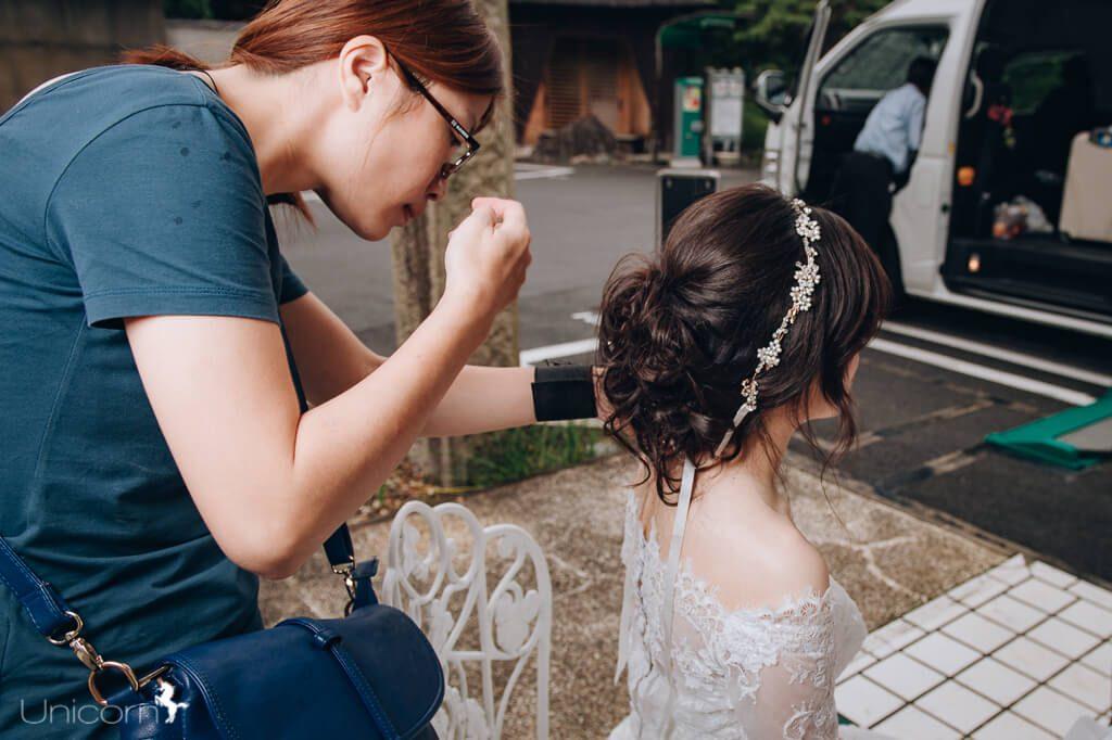 如何拍海外婚紗 懶人包 教學 日本婚紗 新秘造型