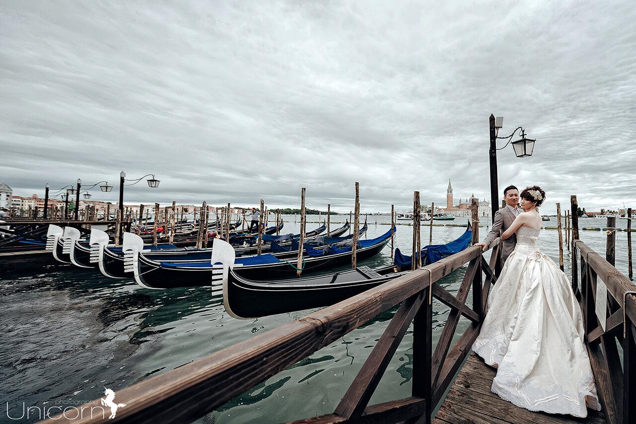 【來去義大利拍婚紗】特色 – 貢多拉船