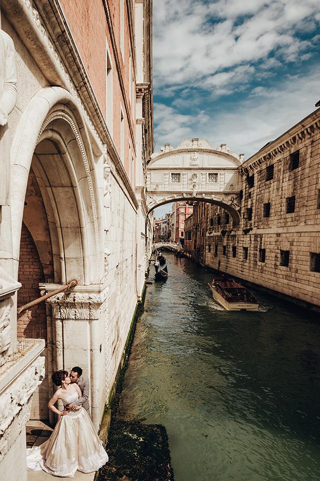 【來去義大利拍婚紗】景點 – 嘆息橋的傳說