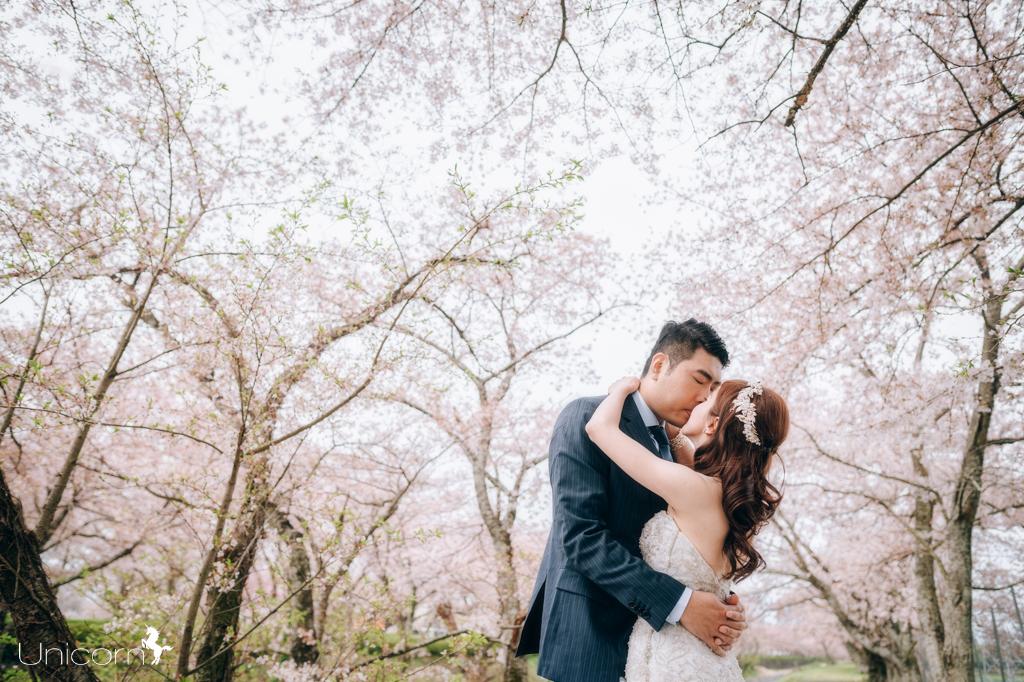 《海外婚紗》Winson & Grace / 京都 Kyoto 櫻花季