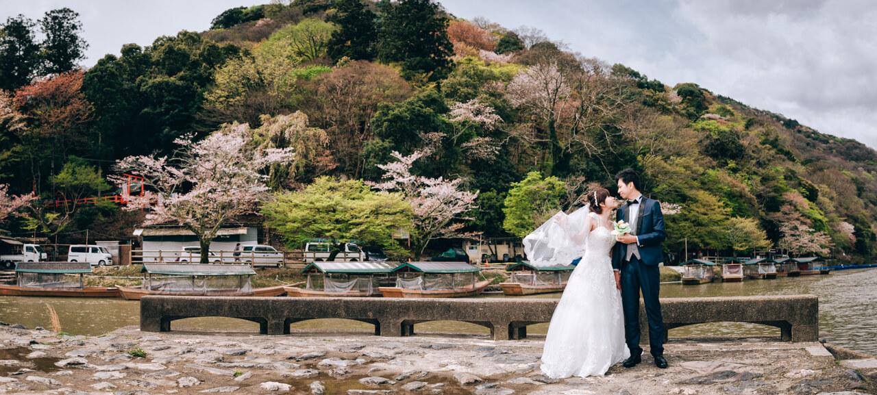 《海外婚紗》Kelson & 子芳 / 京都 Kyoto 櫻花季