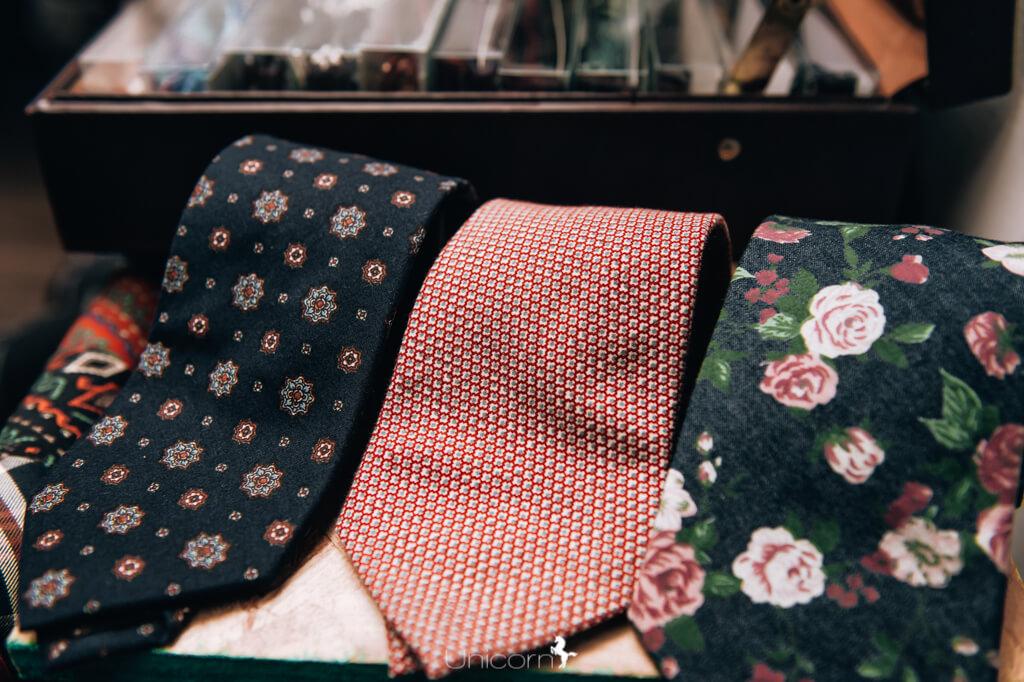 《婚禮伴郎教戰守則》- 西裝訂做配件 - 領帶/領結