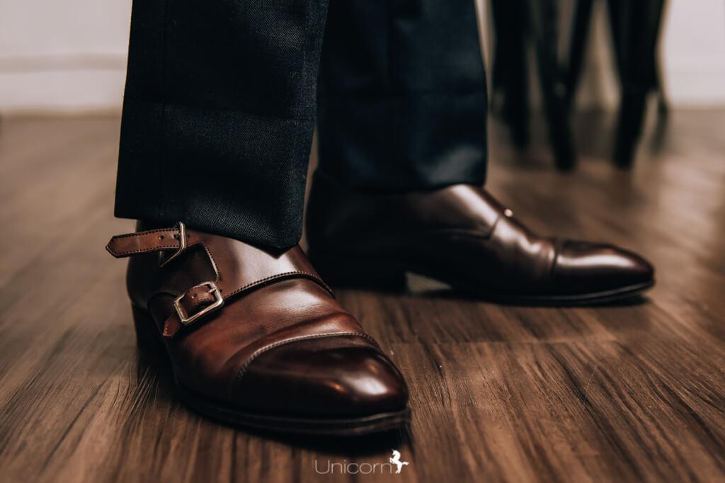 《婚禮伴郎教戰守則》- 西裝訂做配件 - 皮鞋