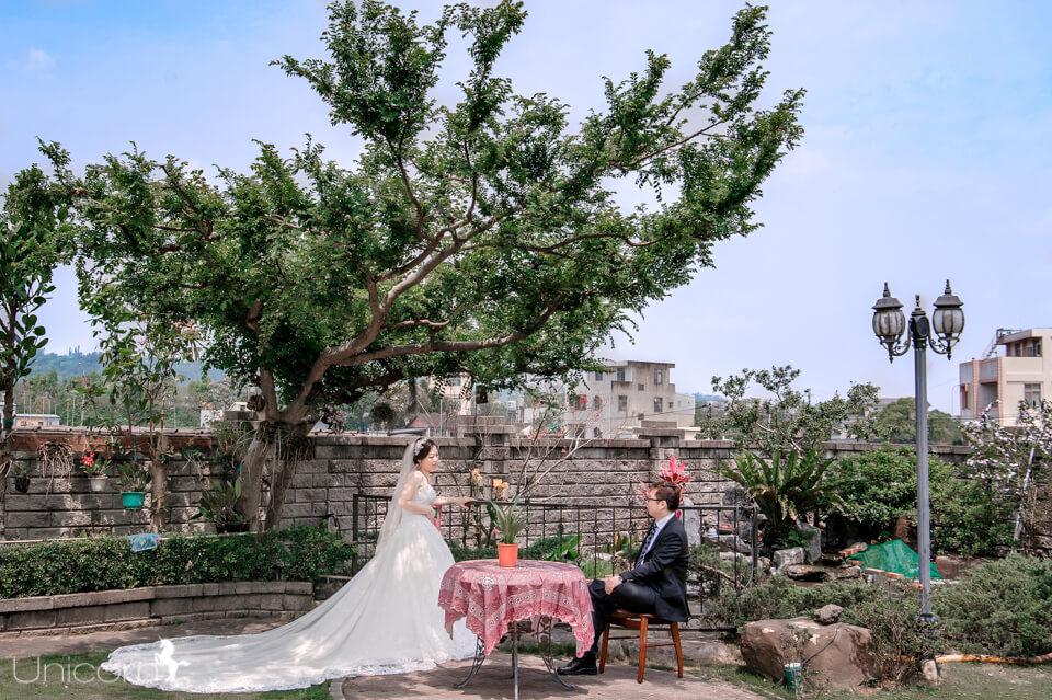 《婚攝加菲》良泉 & 韻真 / 蘭庭農莊花園餐廳