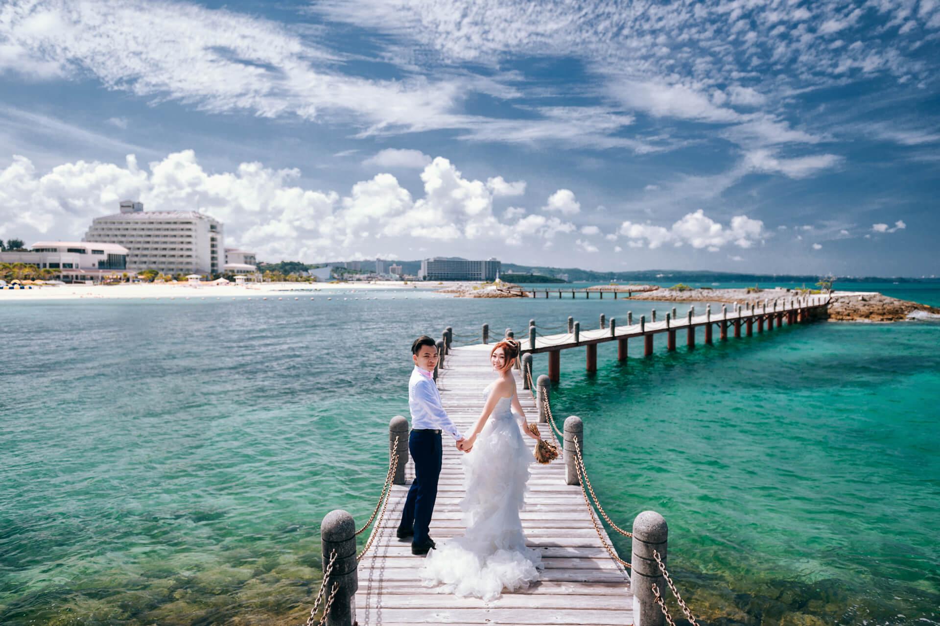 《海外婚紗側錄》小周 & 歆恬 / 沖繩 Okinawa