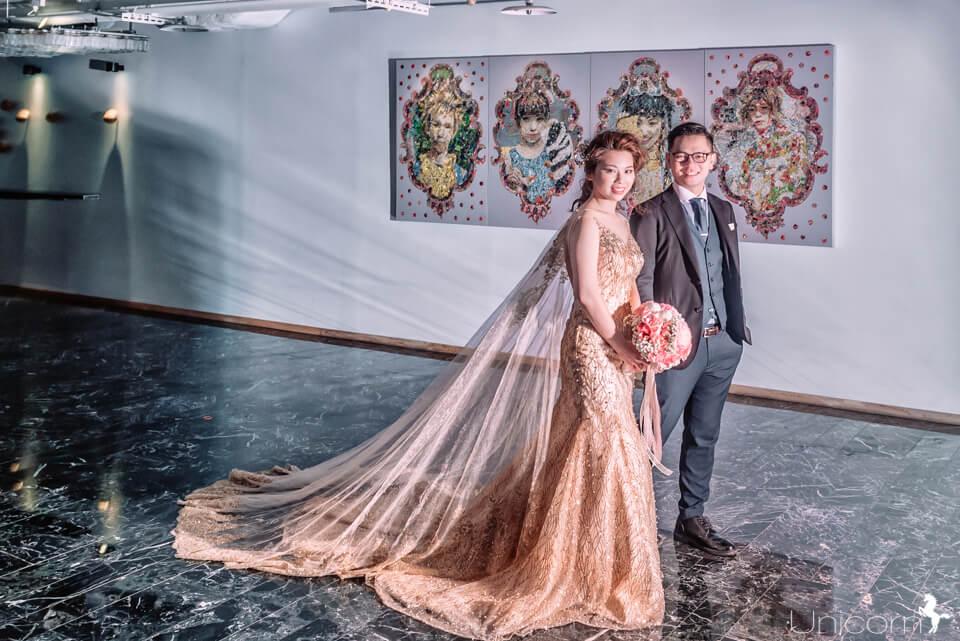 《婚攝章魚》永達 & 宥蓁 / 台北西門町意舍酒店