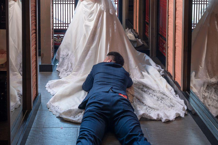 《婚攝加菲》徵明 & 千惠 / 福客來中餐廳自由店