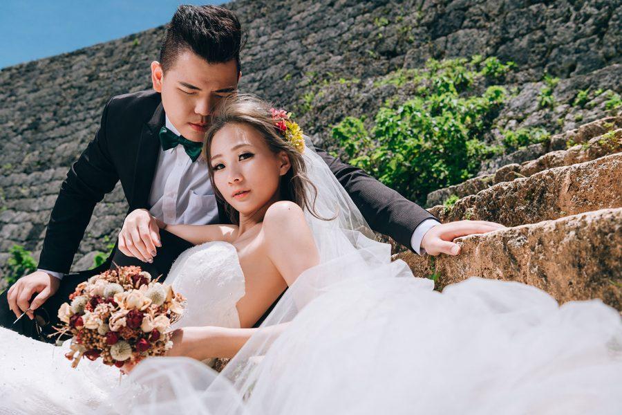 《海外婚紗》恩芸 & 豆豆 / 沖繩 Okinawa