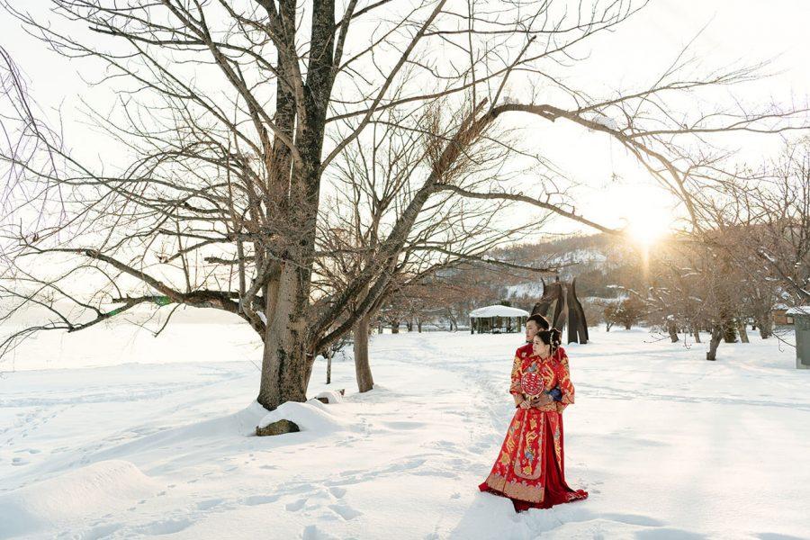 《海外婚紗》King & GiGi / 北海道 Hokkaido