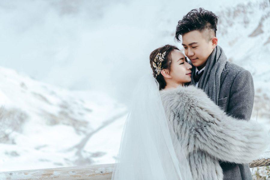 《海外婚紗》秉鴻 & 育伶 / 北海道 Hokkaido